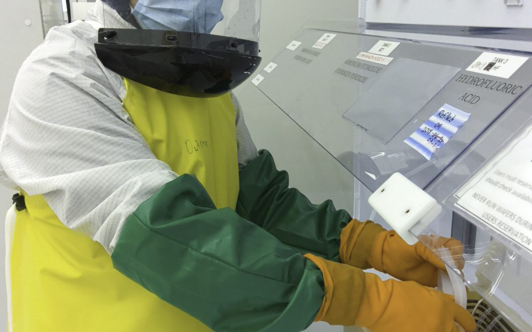 From NIST: Nanofabulous: An intern who mentored interns